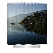 Lake And Sunlight Shower Curtain