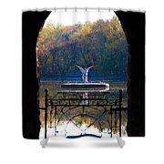 Lake Angel Shower Curtain
