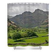 Lake District England Shower Curtain