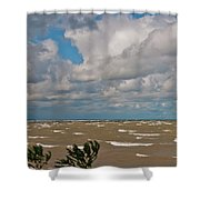 Lake Erie Storm 2368 Shower Curtain