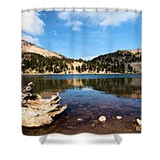 Lake Helen Reflections Shower Curtain