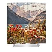 Lake Louise Alberta Shower Curtain