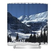 Lake Louise Glacier Shower Curtain