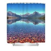 Lake Mcdonald Shower Curtain