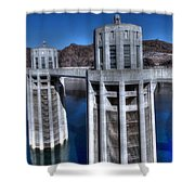 Lake Mead Hoover Dam Shower Curtain