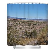 Lake Mead Nevada Shower Curtain