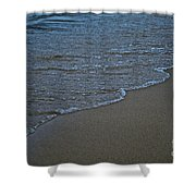 Lake Michigan Beach Shower Curtain