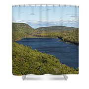 Lake Of The Clouds 1 Shower Curtain