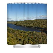 Lake Of The Clouds 3 Shower Curtain