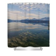 Lake Pend Orille  Shower Curtain
