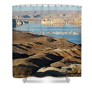 Lake Powell Evening Shower Curtain