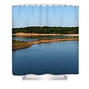 Lake Sardis One Shower Curtain