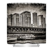 Lake Shore Drive Lsd Shower Curtain