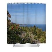 Lake Superior Palisades 2 Shower Curtain