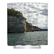 Lake Superior Pictured Rocks 10 Shower Curtain