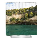 Lake Superior Pictured Rocks 11 Shower Curtain