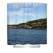 Lake Superior Pictured Rocks 22 Shower Curtain