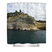 Lake Superior Pictured Rocks 27 Shower Curtain
