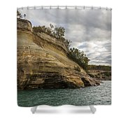 Lake Superior Pictured Rocks 53 Shower Curtain