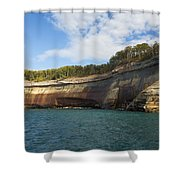 Lake Superior Pictured Rocks 6 Shower Curtain