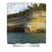 Lake Superior Pictured Rocks 8 Shower Curtain