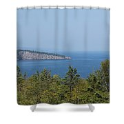 Lake Superior Shovel Point 2 Shower Curtain