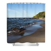 Lake Superior Union Bay 3 Shower Curtain