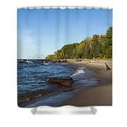 Lake Superior Union Bay 4 Shower Curtain