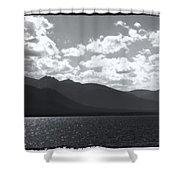 Lake Tahoe Heavenly Shower Curtain