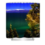 Lake Tahoe Vista Shower Curtain