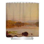 Lake Wawayanda Shower Curtain