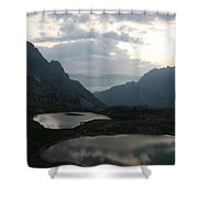 Lakes In Dolomiti Shower Curtain