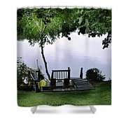 Lakeside Dream 2 Shower Curtain