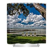 Lakeside View Shower Curtain