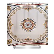 Laleli Mosque Ceiling Shower Curtain