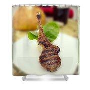 Lamb Chop One Shower Curtain