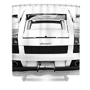 Lambo Gallardo Shower Curtain
