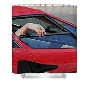 Lamborghini Shower Curtain
