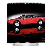 Lamborghini Urraco 1972 Shower Curtain