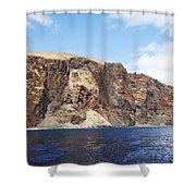 Lanai Sea Cliffs Shower Curtain