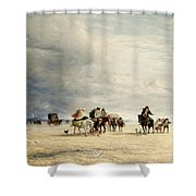 Lancaster Sands Shower Curtain