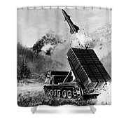 Lance Missile, C1980 Shower Curtain