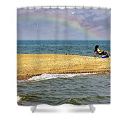 Land Of Pleasant Living Shower Curtain