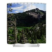 Landscape - Carson Pass 1 Shower Curtain