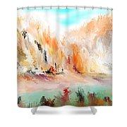 Landscape 111511 Shower Curtain