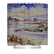 Landscape 5 Shower Curtain