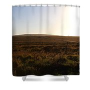 Landscape At Point Reyes California . 7d9958 Shower Curtain