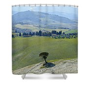 Landscape View Shower Curtain