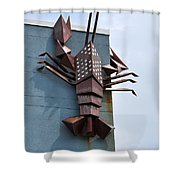 Langusta Lobster Shower Curtain