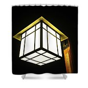 Lantern In The Night Shower Curtain
